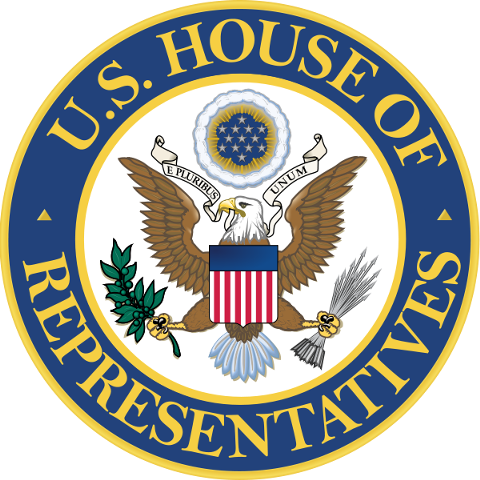 Seal of the United States House of Representatives.