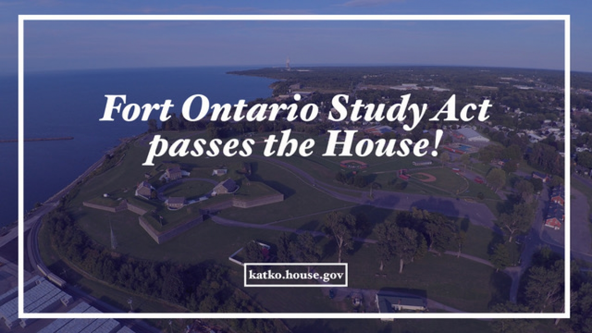 Fort Ontario Study Act