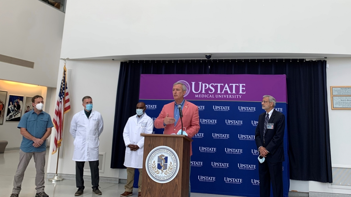 Upstate Tick Press Conference