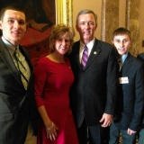 Congressman Katko and his family